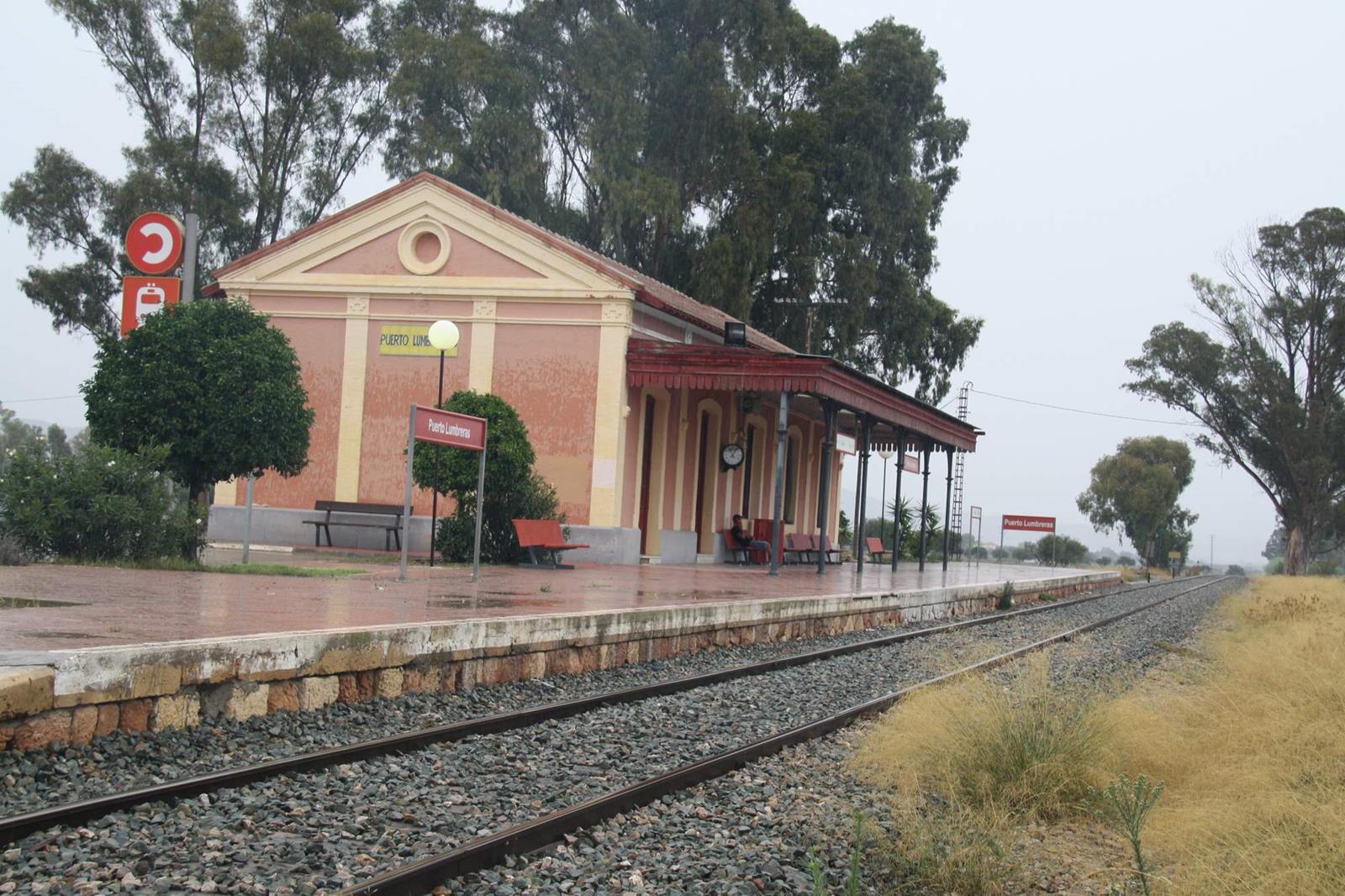 Estacion de Puerto Lumbreras, año 2013, foto Carmelo Zaita