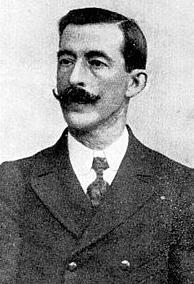 Ricardo Mella Cea, primer presidente de Tranvias de Vigo, año 1907