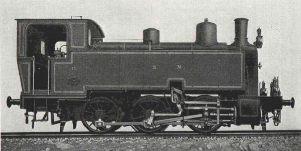 S.M., locomotora 0.3.0.T para maniobras