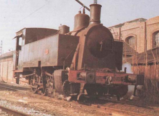 S.M. locomotora nº12 , rodaje 0.3.0.T