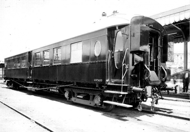 SECN , coche Estado , Archivo Moreno , fondo Fototeca del P.H.