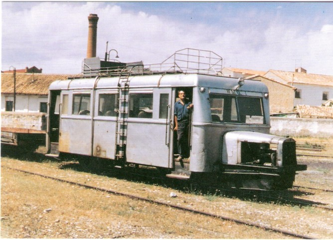 Sadaba a Gallur, Autovia Zaragoza WMG 1, Gallur nov. 1960,AZAFT