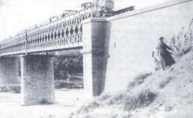 Samper de Calanda, el Puente Negro, fotógrafo desconocido