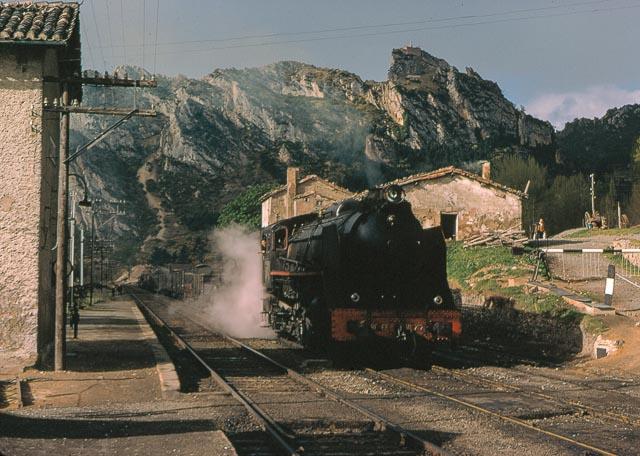 San Felices , 6 de mayo de 1967, locomotora 141-F-2101, foto James M. Jarvis