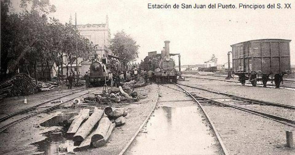 San Juan del Puerto, postal comercial, fondo Miguel Diago Arcusa