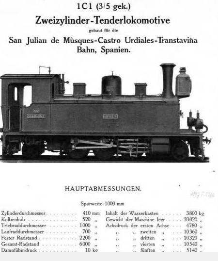 San Julian de Muskes, Castro Urdiales y Traslavina , Hartmann Chemnitz