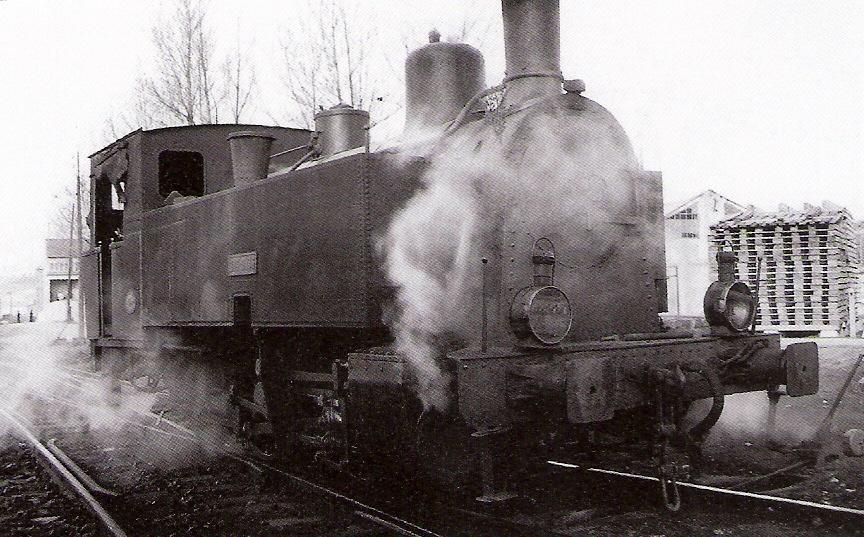 Santander - Mediterraneo, locomotora Bbcocpock & Wilcox - foto Ferran Llauradó