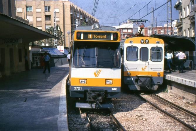 Serie 3700 y 3700 Metro de Valencia