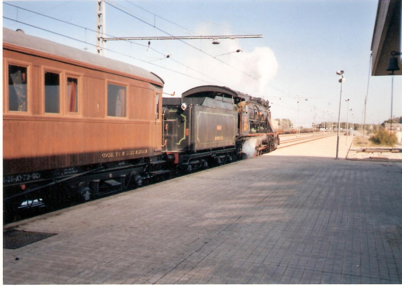 Servicio Militar de Ferrocarriles-Estacion de San Gregorio-Zaragoza 19.11.2003- Gentileza de Francisco González Alcalde