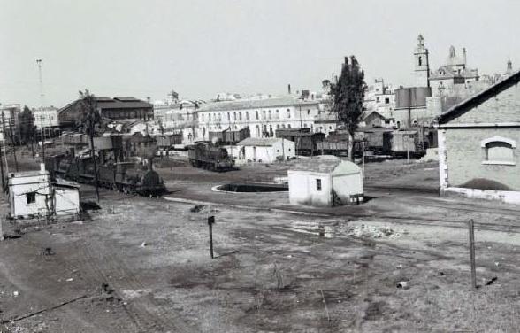 Sevilla San Bernardo , año 1966, foto Karl Wyrsch