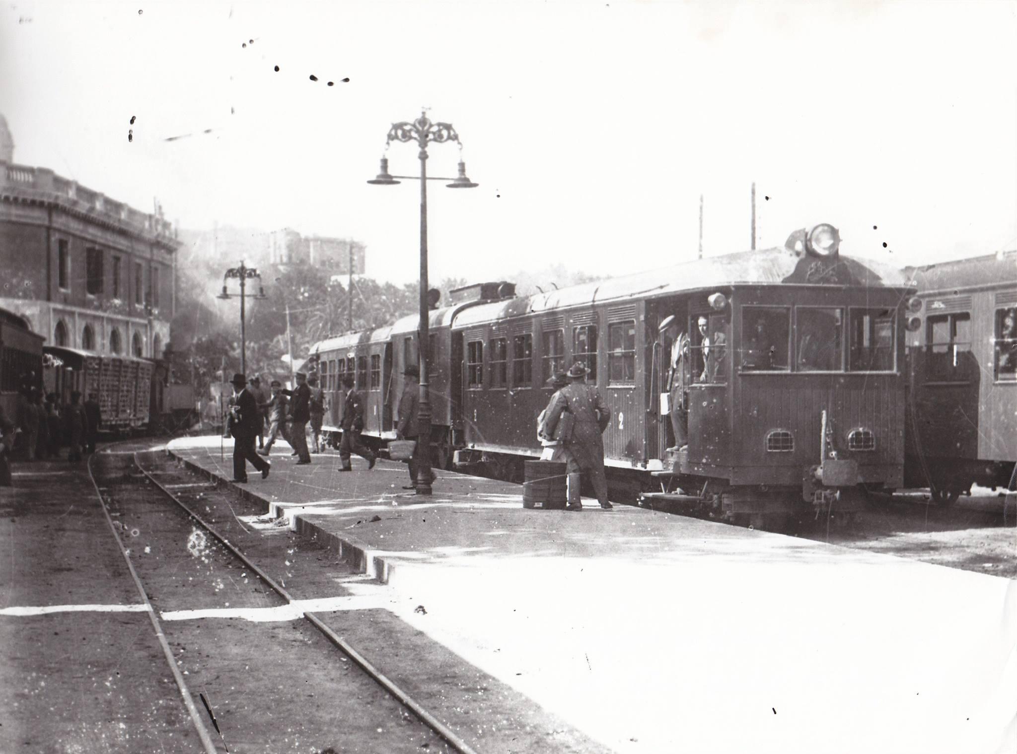 Suburbanos de Malaga, año 1931 , tren ligero Jouve, autor desconocido