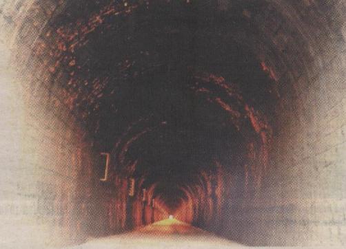 Túnel fe Valdealgorfa , foto Laura Agustí
