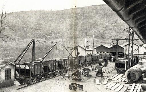 Talleres de Miravalles, construcción de vagones tolva para Sierra Menera, fondo MVF