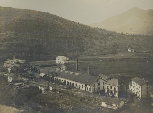Talleres de Miravalles, foto cedida por Iñaki Garcia Uribe, archivo MVF