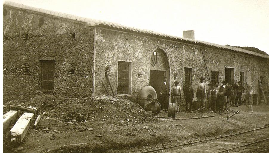 Talleres de la Fundicion de San Jacinto- Garrucha , foto J. Rodrigo