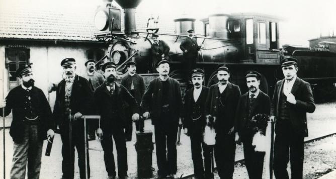 Tarragona a Martorell y Barcelona, 22.11.1900, foto archivo Sebastia Comes Segura