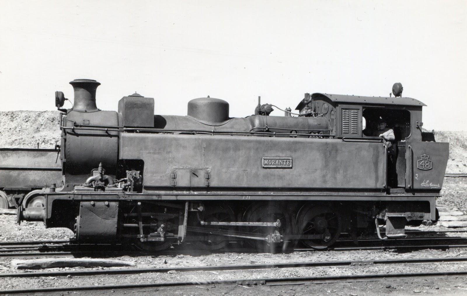 Tharsis al Odiel , locomotora Morante , foto Gustavo Reder , fondo MVF