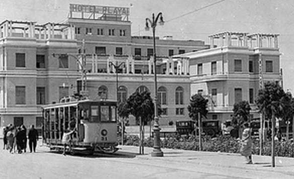 Tranvia de Cádiz nº 31 , fondo APG