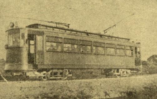 Tranvia de Cadiz a San Fernando y Carraca, La Nacion 22.09.1926