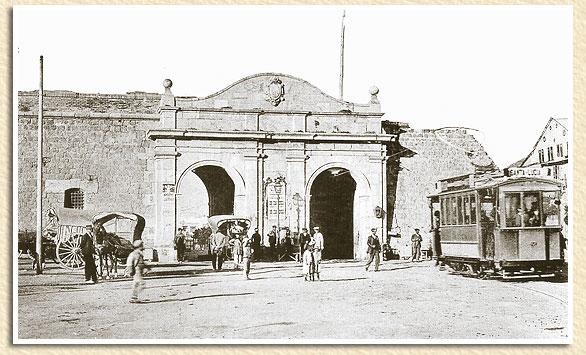 Puertas De Baño San Jose:Tranvia de Cartagena- Puerta de San José ,Fondo CA