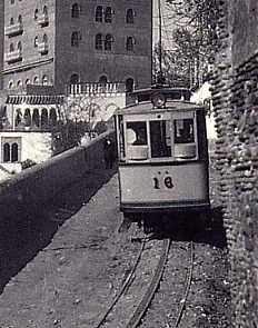 Tranvia de Granada- tramo de cremallera