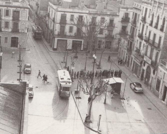 Spanish railway blog archive tranv as de barcelona - Calle escorial barcelona ...
