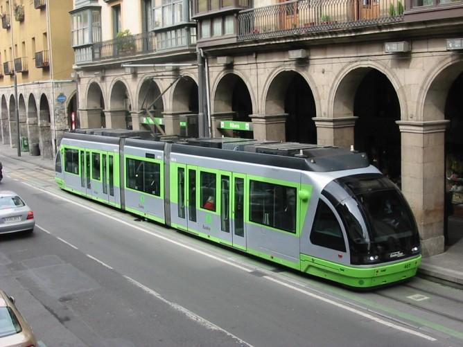 Tranvias de Bilbao ,fondo Fernando Ruiz de Eguino