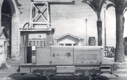 Tranvias de Vigo , Tractor Berliet, Foto Pacheco, Archivo Xan Fraga