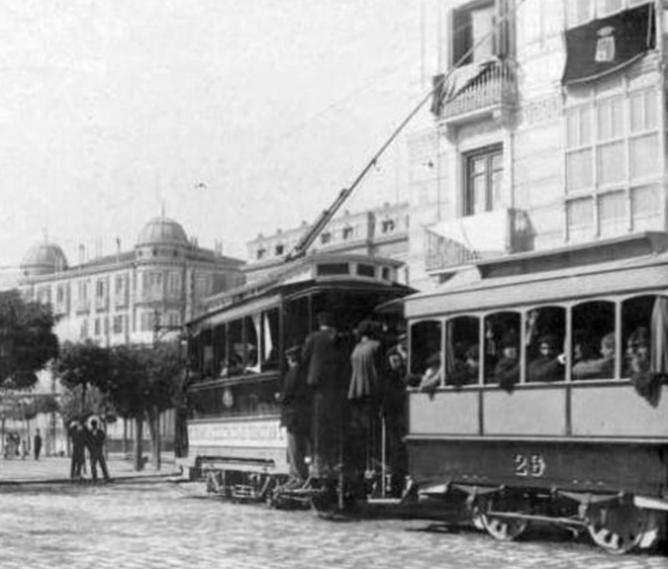 Tranvias de Zaragoza, año 1902