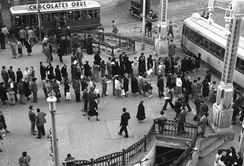 Tranvias de Zaragoza, año 1965
