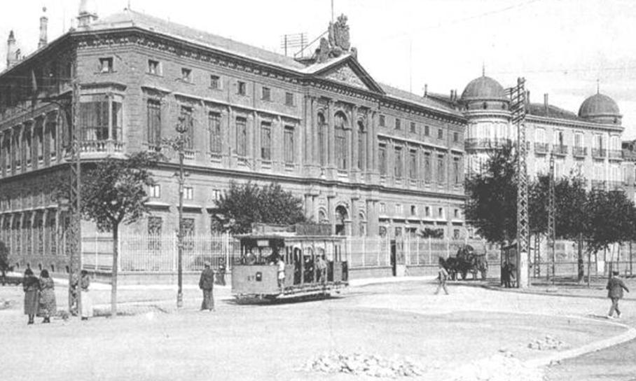 Tranvias de Zaragoza, linea de Torrero, primera linea electrificada, año 1905