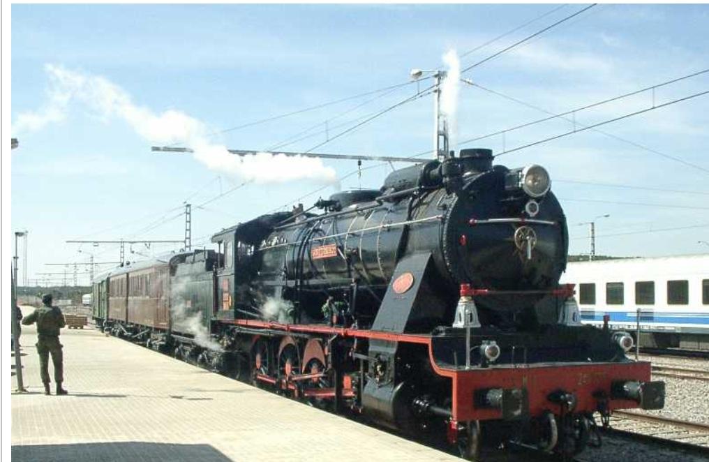 Tren Militar , Foto Carlos Abadias