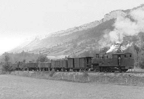 Tren carbonero del Ferrocarril de la Robla, foto Harold Navé