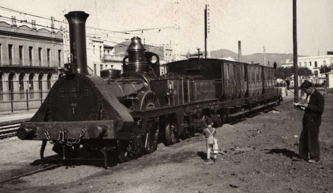 Tren del Centenario , autor desconocido. (Cercle Historic Miquel Biada)