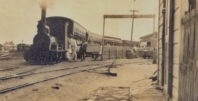Tren dr Castaño a Bayamón. Fotógrafo desconocido