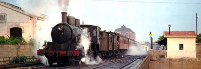 Tren saliendo de la estación de Lérida Archivo CEHFH