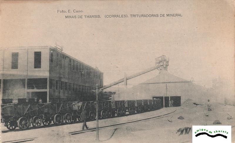 Trituradora de mineral (Los Corrales) , fondo : Amigos de Tharsis