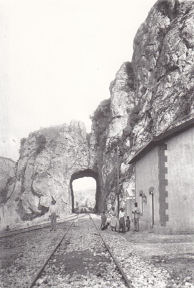 Tunel de Puente Quebrada (loja) , linea de Bobadilla a Granada , Archivo Municipal de Loja