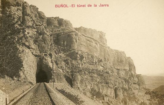 Puente de la jarra , en Buñol , Postal comercial
