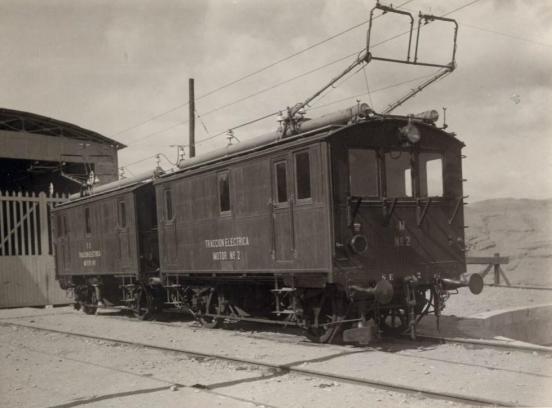 Unidad Bronw & Boveri nº 2, en el deposto de Santa Fe - Alhama, c. 1911 , AHF, F.185 foto Victoriano Lucas