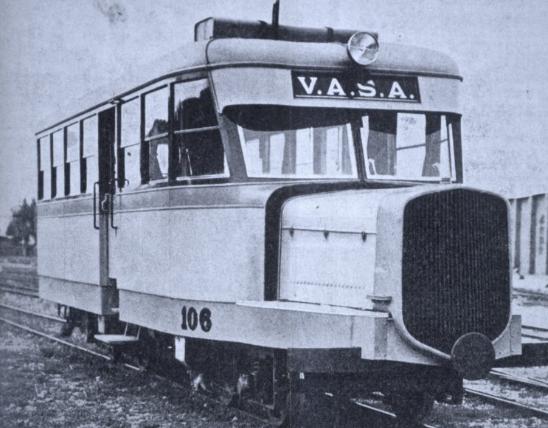 Unidad auto otora VASA, archivo Enrique Andrés Gramage