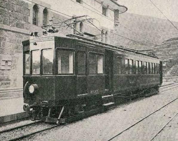 Urola , coche automotor Siemens Schukens , Revista Ingenieria y Construccion , 1926