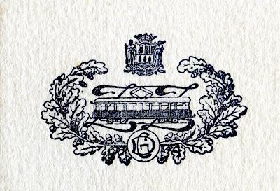Escudo del ferrocarril del Urola, imagen cedida por Juan José Olaizola