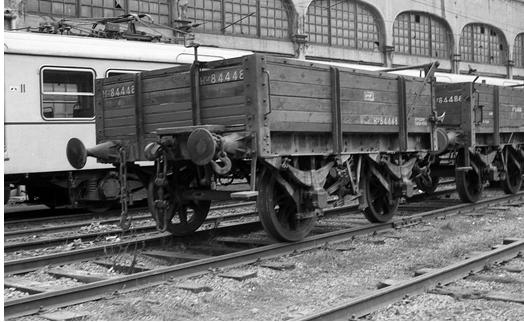 Vagon del Bilbao a Portugalete seri Jp-11, en 1901, foto MPS