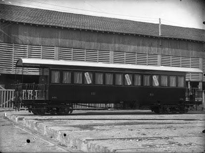Valencia a Villanueva de Castellón , coche de 3ª clase, fondo Archivo Dip. de Zaragoza
