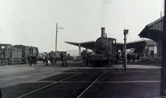 Norte , tracción Vapor año 1920, fotografo desconocido