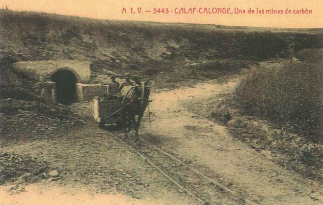 Calonge, c. 1913. Postal comercial . Archivo Minicipal de Calaf