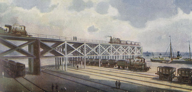 viaducto-cargadero-del-puerto-del-musel-coleccion-jose-eugenio-ribera