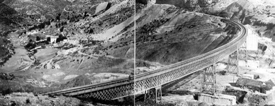 Viaducto de El Chorro, archivo JPT