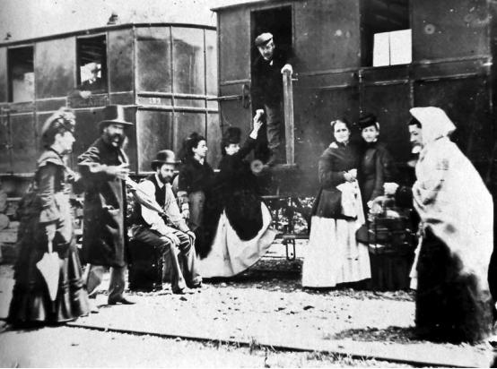 Viajeros en la estación de Málaga